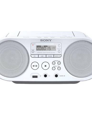Rádioprijímač s CD Sony ZS-PS50W biely