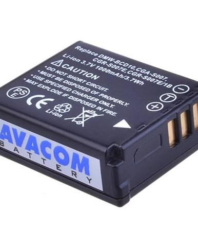 Batéria Avacom Panasonic CGA-S007, DMW-BCD10 Li-Ion 3.7V 1000mAh 3