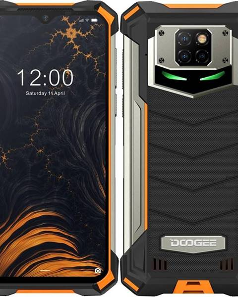 Doogee Mobilný telefón Doogee S88 Plus Dual SIM oranžový