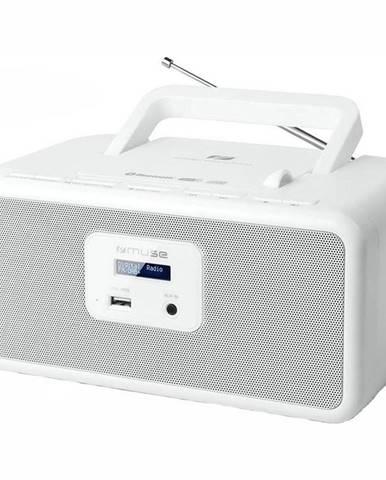 Rádioprijímač s DAB+ MM-32 DBW biely