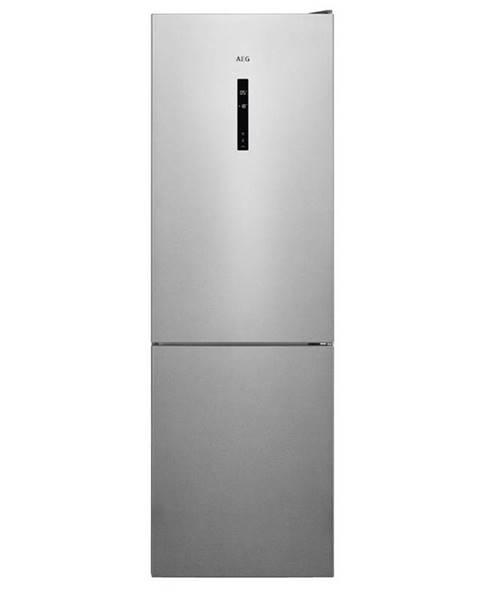 AEG Kombinácia chladničky s mrazničkou AEG Mastery Rcb732d5mx nerez