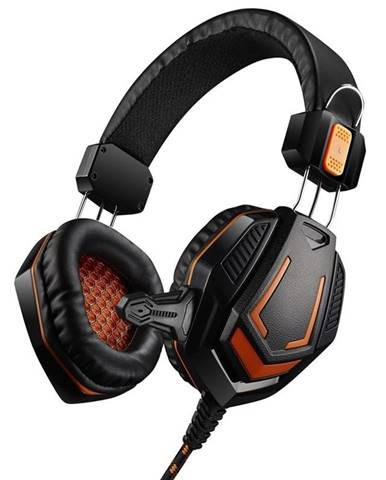 Headset  Canyon CND-Sghs3a čierny/oranžový