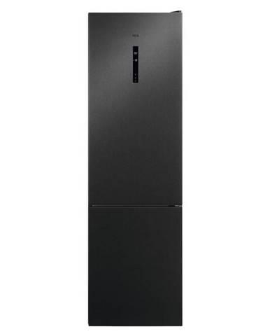 Kombinácia chladničky s mrazničkou AEG Mastery Rcb736d5mb čierna