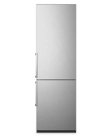 Kombinácia chladničky s mrazničkou Hisense Rb343d4ddd strieborn