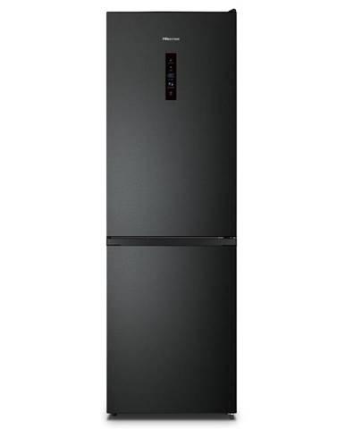 Kombinácia chladničky s mrazničkou Hisense Rb390n4bfe čierna