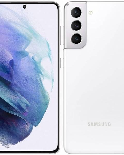 Samsung Mobilný telefón Samsung Galaxy S21 5G 128 GB biely