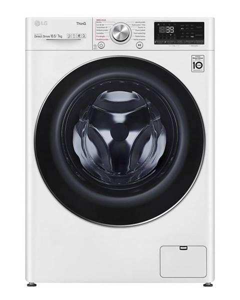LG Práčka so sušičkou LG F4dv910h2e biela