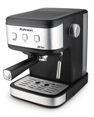 Espresso Rohnson R-987 čierne/strieborn