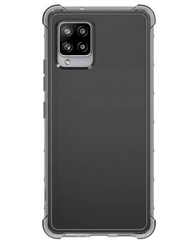 Kryt na mobil Samsung Galaxy A42 5G čierny/priehľadný