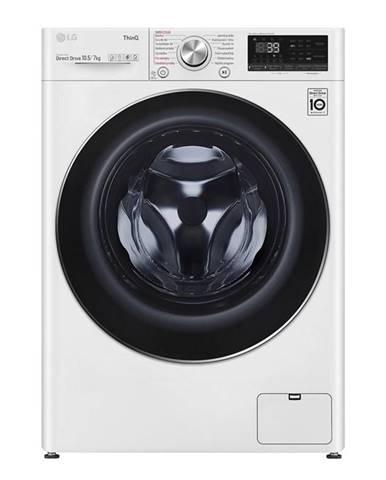Práčka so sušičkou LG F4dv910h2e biela