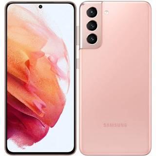 Mobilný telefón Samsung Galaxy S21 5G 128 GB ružový