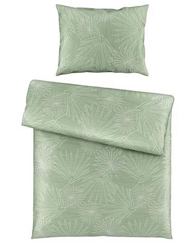 Posteľná Bielizeň Cora, 140/200cm, Zelená
