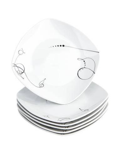 Mäser 6-dielna sada dezertných tanierov Chanson, 19 cm