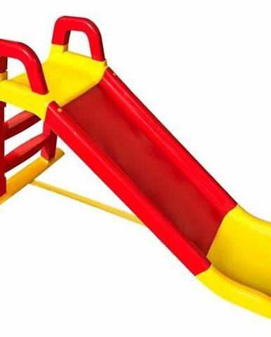 Doloni Dtská šmýkačka červeno-žltá, 140 x 85 cm