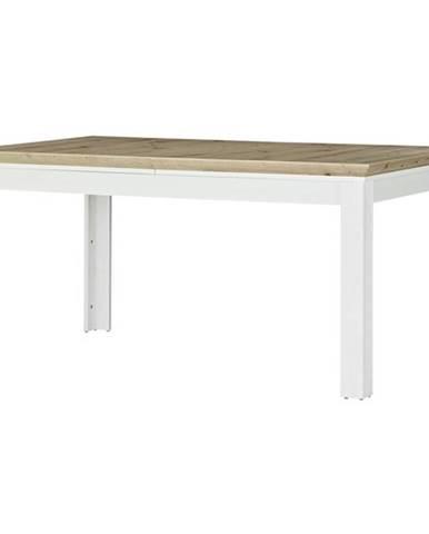 Jedálenský stôl JASMIN pínia svetlá/dub artisan