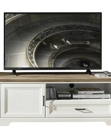 TV stolík JASMIN pínia svetlá/dub artisan