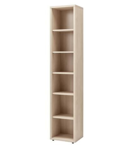 Regál ENNIO dub elegance, šírka 44 cm