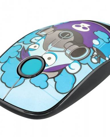 Bezdrôtová myš Trust Sketch, modrá