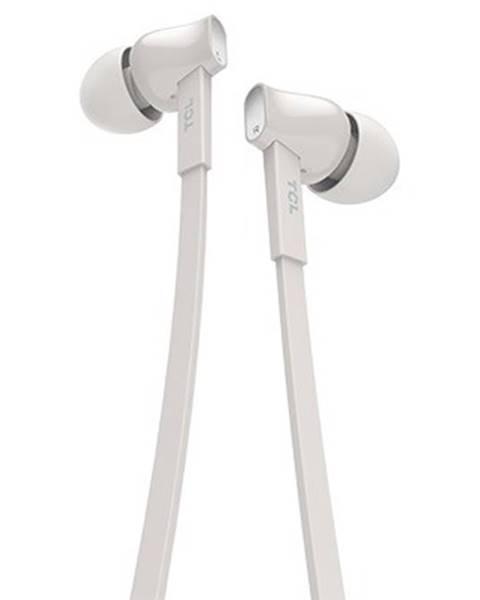 TCL TCL slúchadlá do uší, drôtové, mikrofón, biela