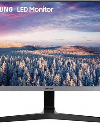 Monitor Samsung S24R350, 23,8'', FullHD, IPS, 75Hz, strieborná