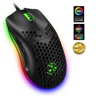 Herná myš ConnectIT Battle Air CMO5510BK, černá