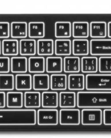 Klávesnica Connect IT CKB-4041-SK, podsvietená, CZ/SK
