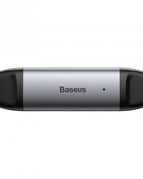 Baseus Čítačka pamäťových kariet Baseus Lentil Cabin, sivá CADKQ-B0G