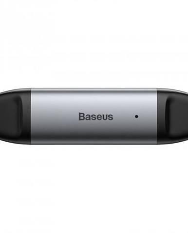 Čítačka pamäťových kariet Baseus Lentil Cabin, sivá CADKQ-B0G