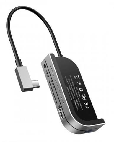 Hub Baseus CAHUB-WJ0G pre iPad Pro USB-C, sivá