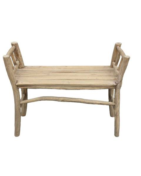 HSM collection Lavica z teakového dreva HSM collection Bench Pank
