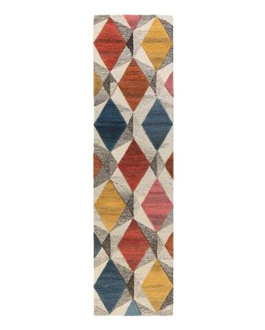 Vlnený koberec Flair Rugs Yara, 60 x 230 cm