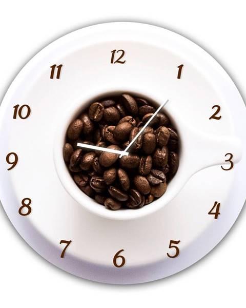 Styler Nástenné hodiny Styler Glassclock Cup, ⌀ 30 cm