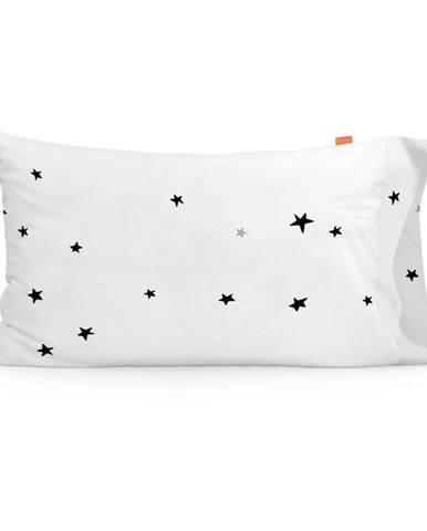 Súprava 2 bavlnených obliečok na vankúš Blanc Constellation, 50 × 75 cm