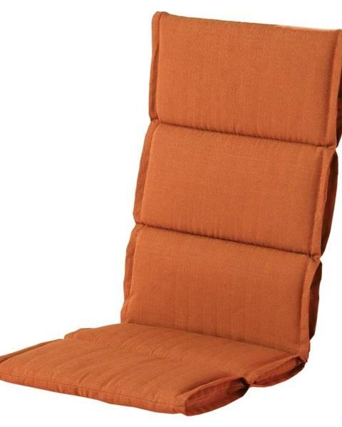 Hartman Červeno-oranžový zahradný sedák Hartman Casual, 123 x 50 cm