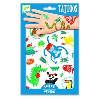 Súprava tetovaní Djeco Jungle