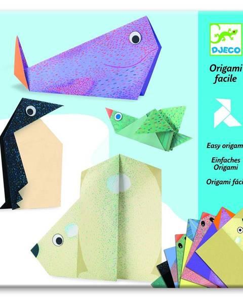 Djeco Sada 16 origami papierov s návodom Djeco Polar