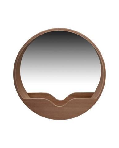 Nástenné zrkadlo s odkladacím priestorom Zuiver Round Wall, ⌀40cm