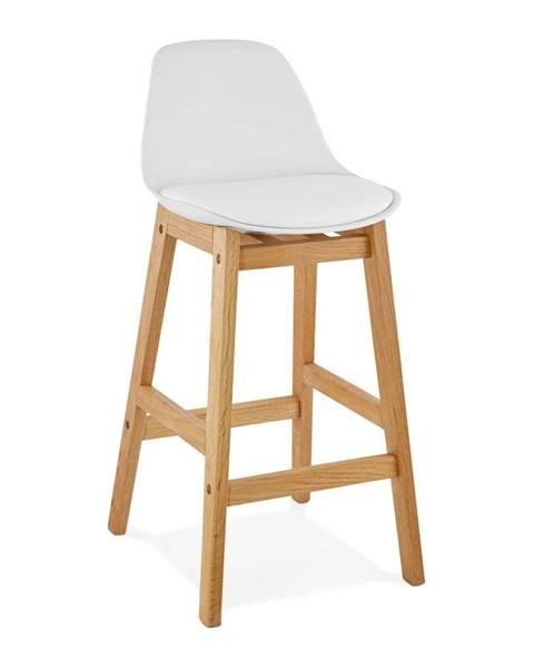 Kokoon Biela barová stolička Kokoon Elody, výška 86,5 cm