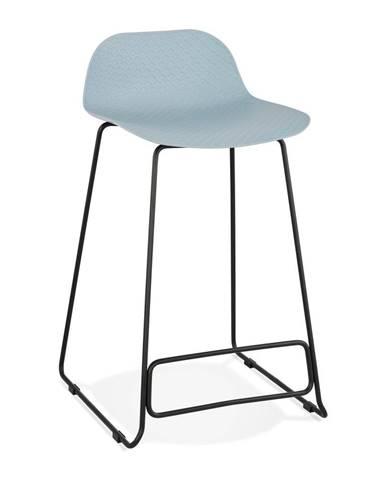 Svetlomodrá barová stolička Kokoon Slade, výška 85 cm