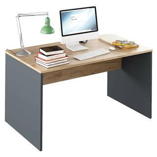 Písací stôl grafit/dub artisan RIOMA NEW TYP 11