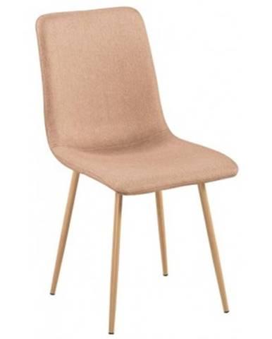 Jedálenská stolička Bjorn, béžová látka%