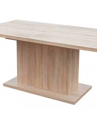 Jedálenský stôl Paulo 160x90 cm, dub sonoma, rozkladací%