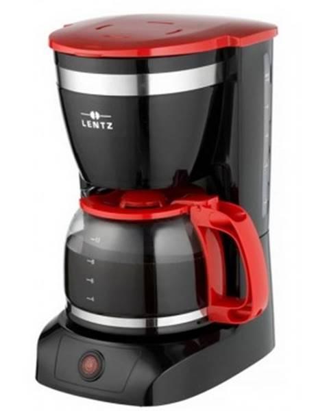 ASKO - NÁBYTOK Prekvapkávací kávovar Lentz 20147, čierno-červený%