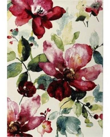 Koberec Belis 80x150 cm, kvetinový motív%