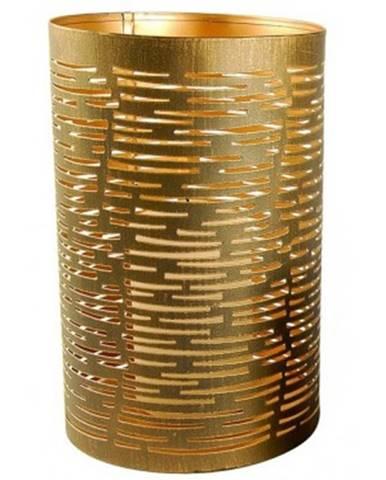 Kovový svietnik Tim, výška 20 cm, bronzový%