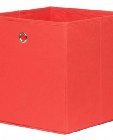 Úložný box Alfa, červený%