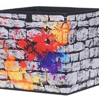 Úložný box Alfa, motiv graffiti%