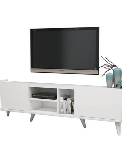 Sconto TV stolík ELEGANTE biela