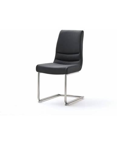 Jedálenská stolička SADIE 3 čierna/antikoro