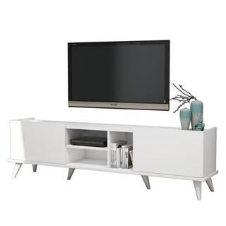 TV stolík ELEGANTE biela